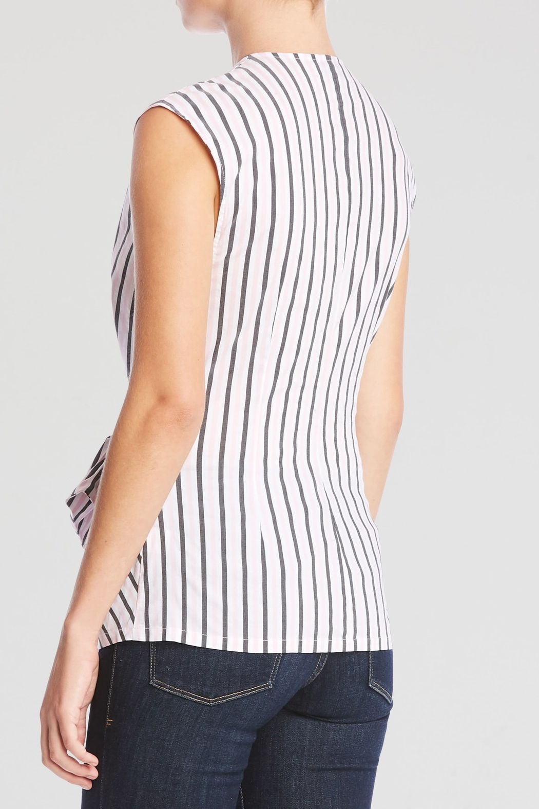 Bailey 44 Striped Tart Top - Front Full Image