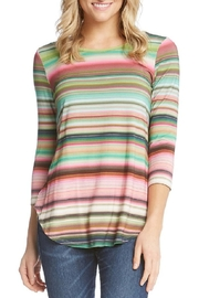 Karen Kane Striped Tee - Product Mini Image