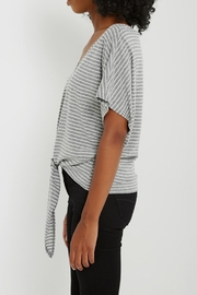 Soprano Striped Tee Tie - Back cropped