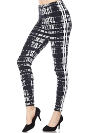 2NE1 Apparel Striped Tie-Dye Leggings - Product Mini Image