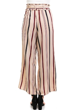 Illa Illa Striped Tie Pants - Alternate List Image