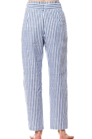 Love Tree Striped Tie Pants - Side cropped