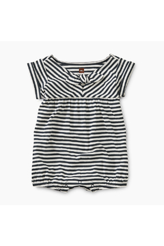 Tea Collection Striped Tie Romper - Product List Image