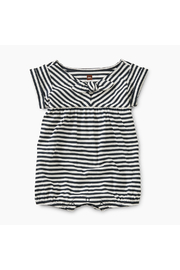 Tea Collection Striped Tie Romper - Front cropped