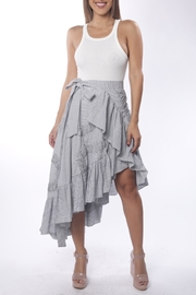 Cattiva Girl Striped Tiered-Frill Skirt - Product Mini Image