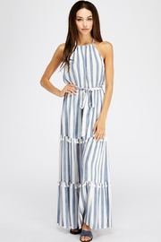 Flying Tomato Striped Tiered Maxi - Product Mini Image
