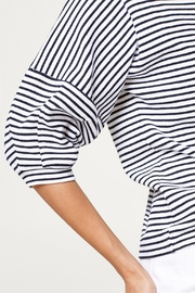Esprit Striped Top - Back cropped