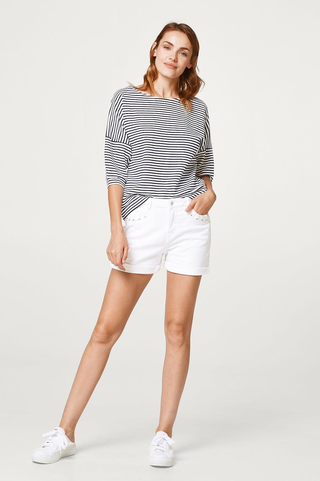 Esprit Striped Top - Front Full Image