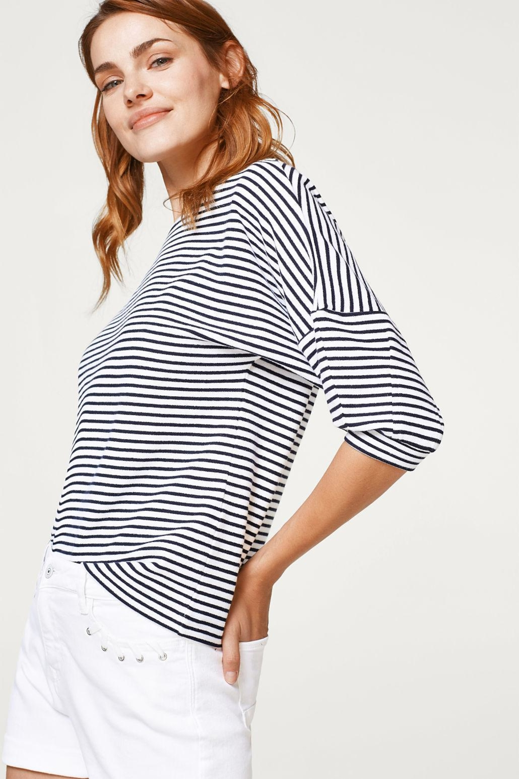 Esprit Striped Top - Side Cropped Image
