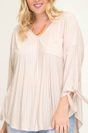 Starrs On Mercer Striped Top - Product Mini Image