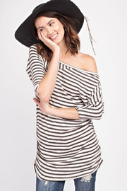 easel Striped Top - Product Mini Image