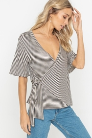 Lush Striped Top - Front cropped