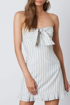 Cotton Candy Striped Tube Dress - Product List Image