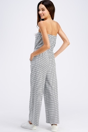 Emory Park Striped Tube Jumpsuit - Back cropped