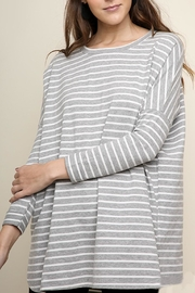 Umgee USA Striped Tunic - Front cropped