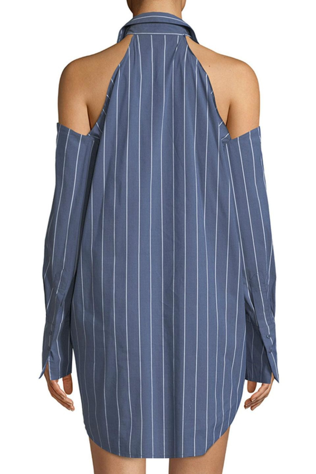 Kendall + Kylie Striped Tunic Mini-Dress - Front Full Image