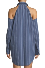 Kendall + Kylie Striped Tunic Mini-Dress - Front full body