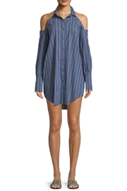Kendall + Kylie Striped Tunic Mini-Dress - Front cropped