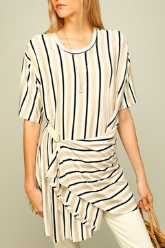 Lumiere Striped Tunic Tee - Product List Image