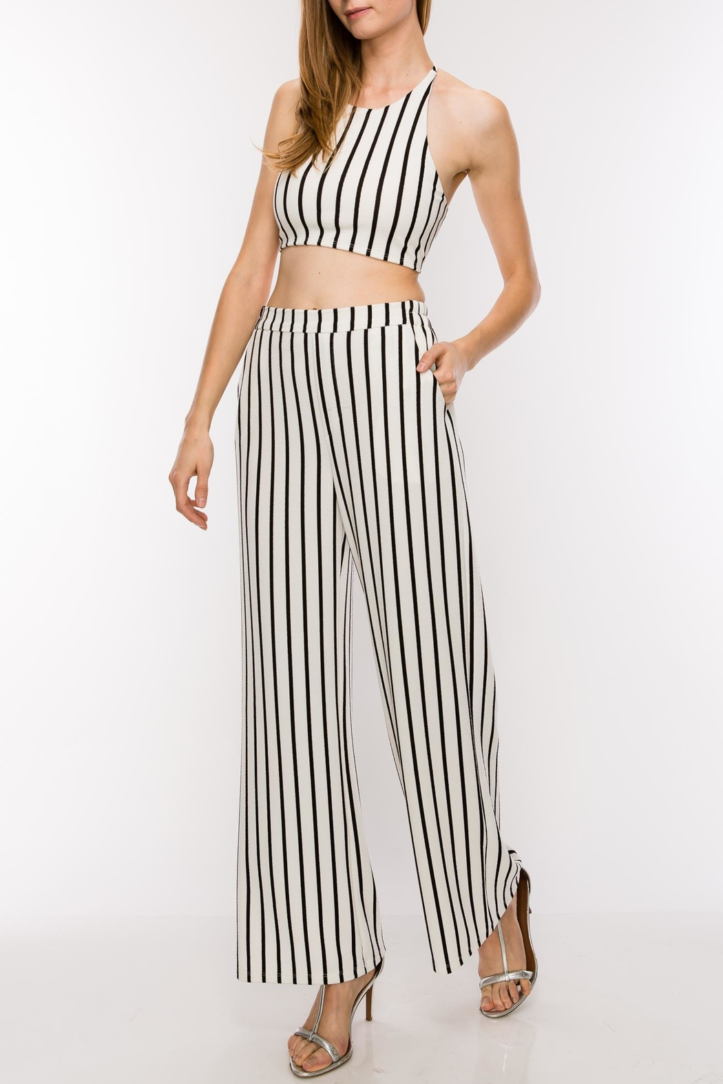 HYFVE Striped Two Piece - Main Image