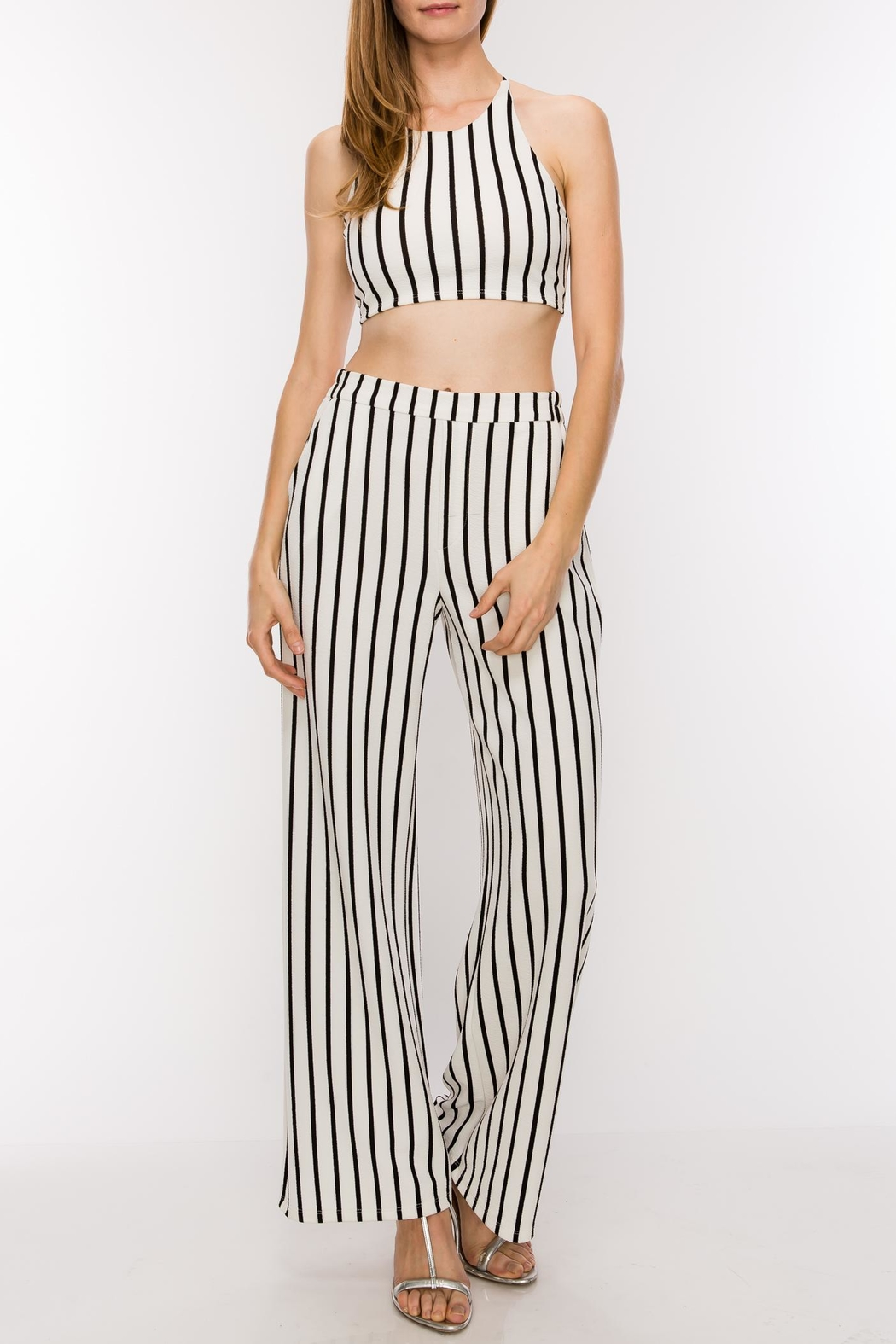 HYFVE Striped Two Piece - Side Cropped Image