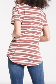 z supply Striped V-Neck Tee - Other