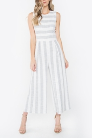 Sugarlips Striped Wide-Leg Jumpsuit - Product Mini Image