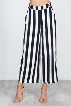 essue Striped Wide Leg Pant - Product List Image
