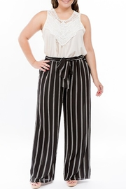 Spin USA Striped Wide Leg Pant - Product Mini Image