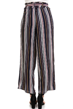 Illa Illa Striped Wide Pants - Alternate List Image
