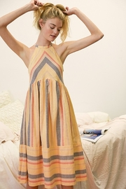 Listicle Striped Woven Dress - Product Mini Image