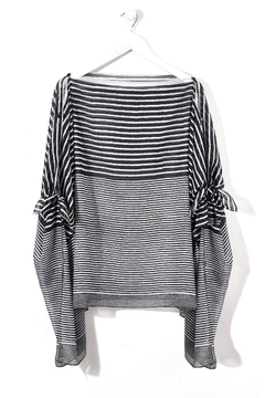 Giftcraft Inc.  Striped Woven Poncho - Alternate List Image