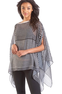 Giftcraft Inc.  Striped Woven Poncho - Product List Image