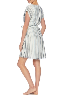 Splendid Striped Wrap Dress - Alternate List Image