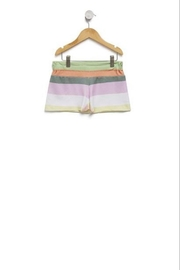 Wildfox Kids Stripes Cutie Shorts - Front cropped