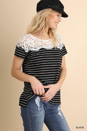 Umgee Stripes With Lace - Product Mini Image