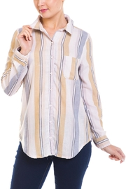Paper Crane Stripped Button-Down Shirt - Product Mini Image