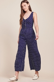 BB Dakota Stripped Jumpsuit - Product Mini Image