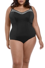 Elomi Stripped One Piece - Front cropped