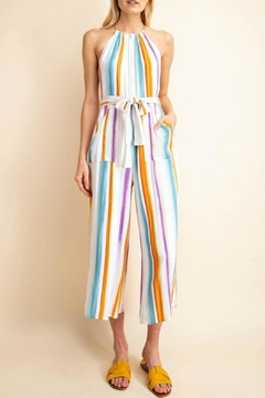 Shoptiques Product: Stripped Summer Romper