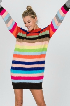 Modern Emporium Stripped Sweater Dress - Product List Image
