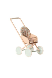 Maileg Stroller Micro - Powder - Front cropped