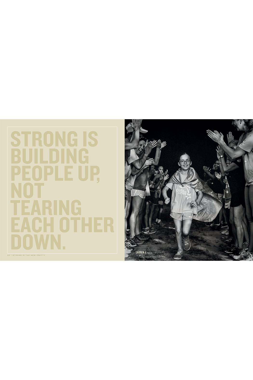 Workman Publishing Strong is the New Pretty: A Celebration of Girls Being Themselves - Front Full Image