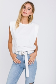 Endless Rose Strong Shoulder Tee - Product Mini Image