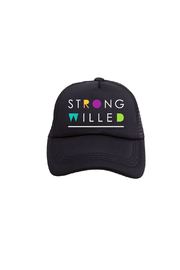 Tiny Trucker Strong Willed Trucker Hat - Product Mini Image
