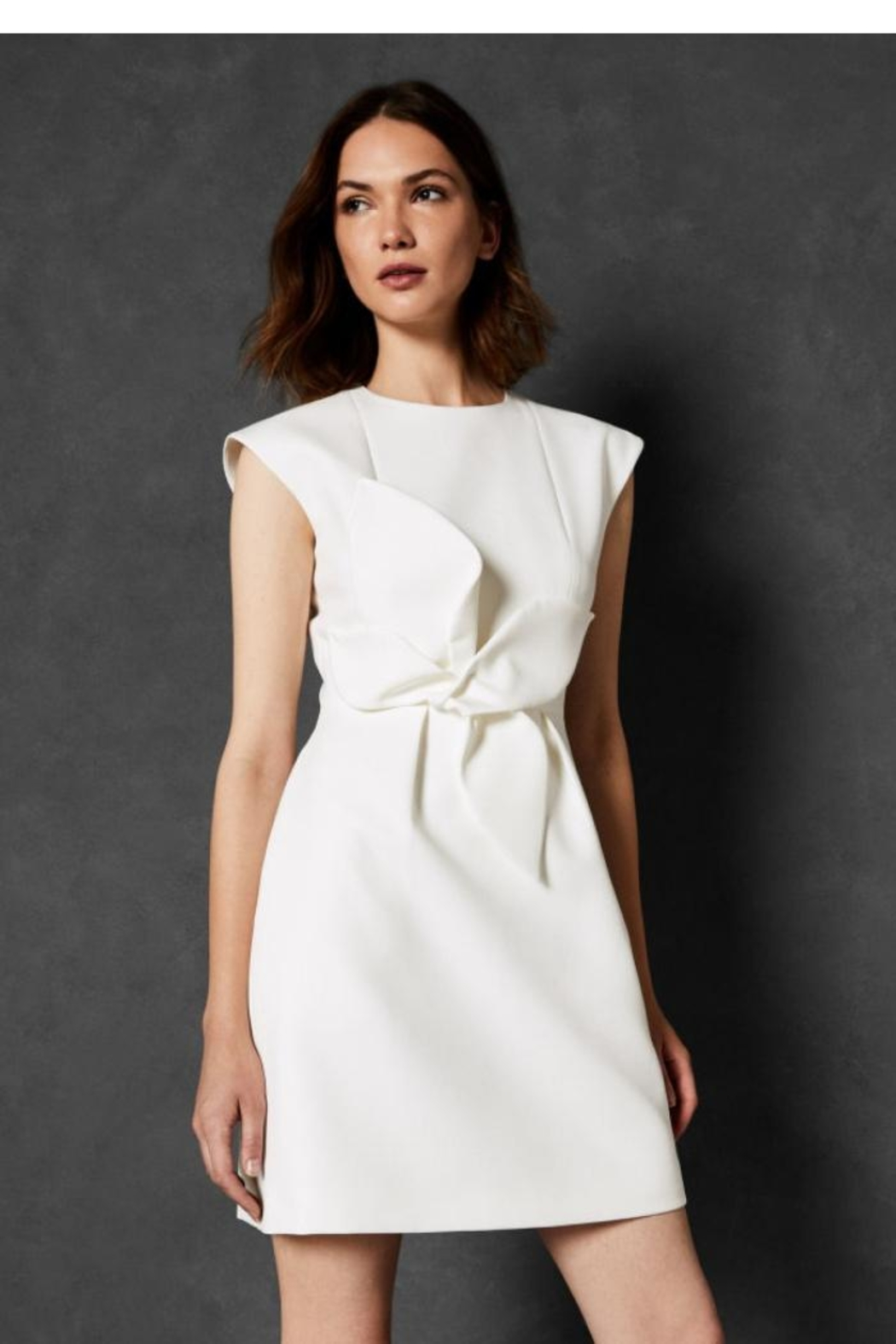 Ted Baker Structered Bow Dress - Main Image