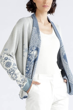 Shoptiques Product: Structure Pattern Cardigan