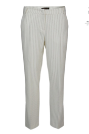 Summum Structured Pinstripe Trousers - Product Mini Image