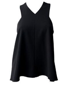 Tibi Structured V-Neck Top - Product List Image