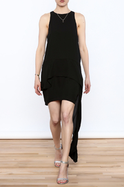 Strut & Bolt Black Tail Dress - Product Mini Image